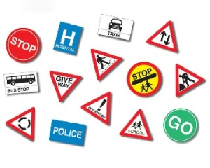 road-sign-set
