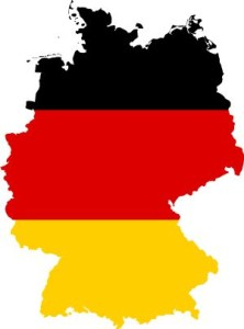 germany-flag-map